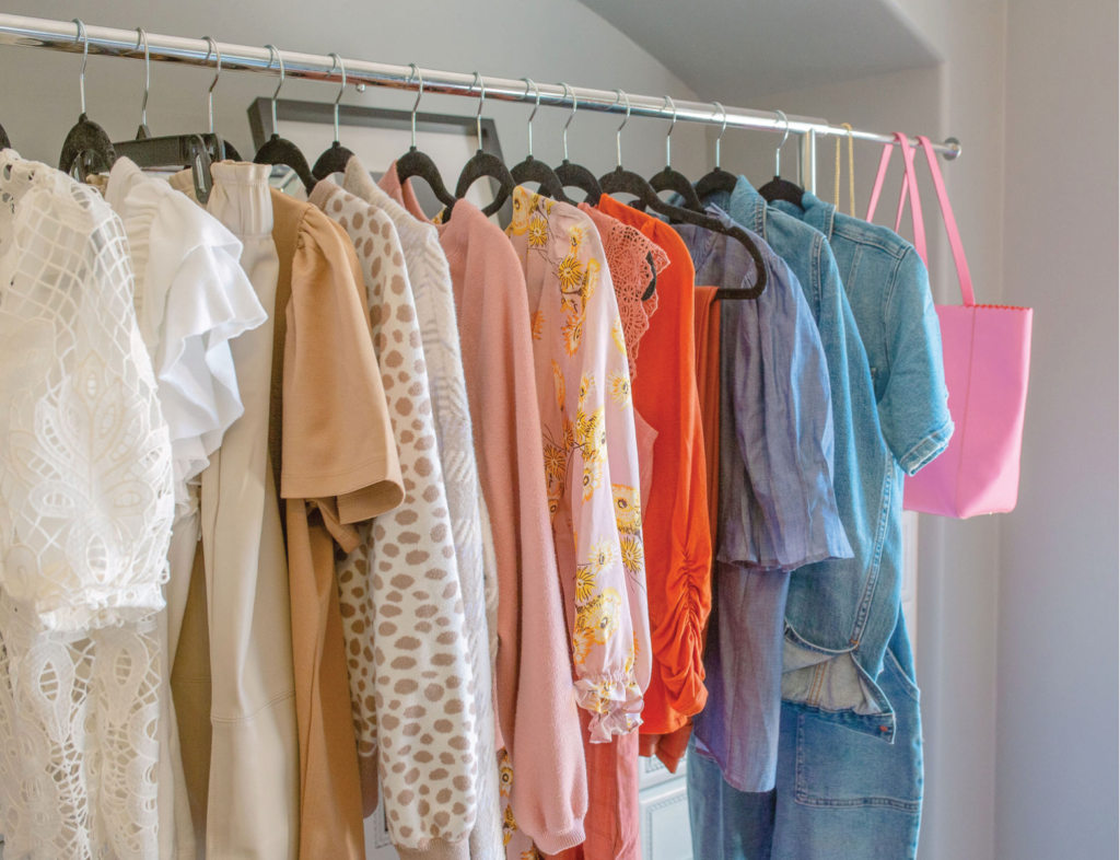 hanger of clothes